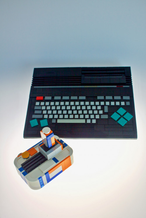 LEGO elements computer case MSX